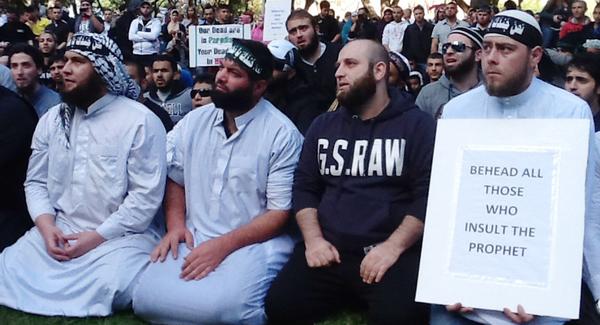 Muslim Protest - Sydney - Islam - Islamist - Islamism - Terrorism - Terrorist - Jihad - Australia - Patriot - Bully - Bullies - War - Muslim - Sifu Crockett - We Need To Talk